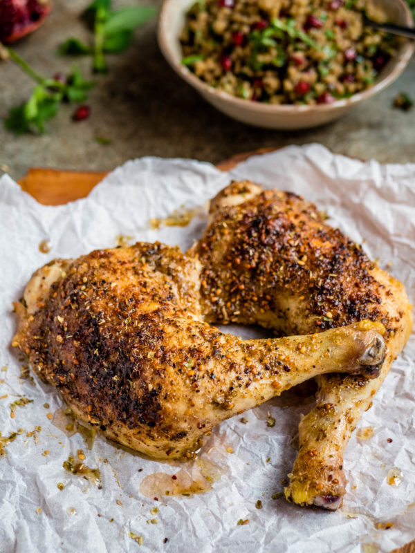 Kylling med za'atar - oppskrift fra Et kjøkken i Istanbul