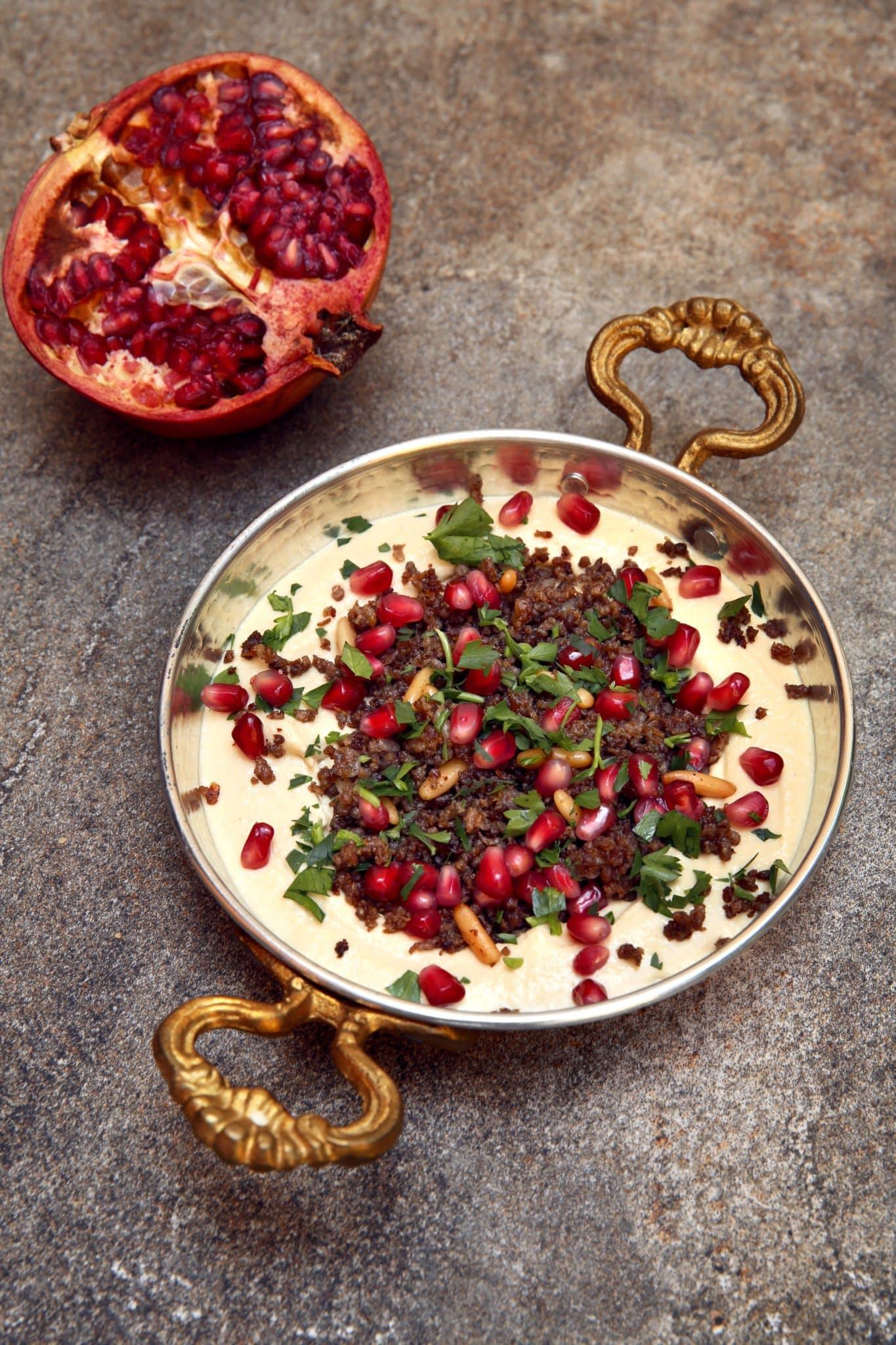 Krydret lam med hummus - oppskrift / Et kjøkken i Istanbul