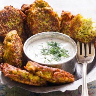 Squashburger - oppskrift fra Et kjøkken i Istanbul
