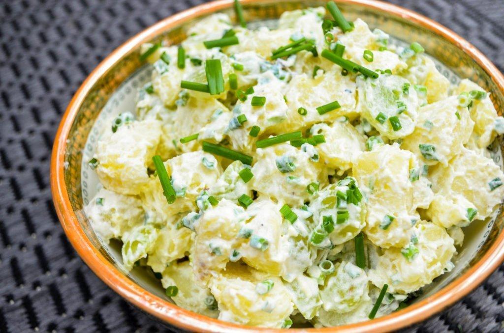 Klassisk potetsalat med [oppskrift] Et kjøkken i Istanbul