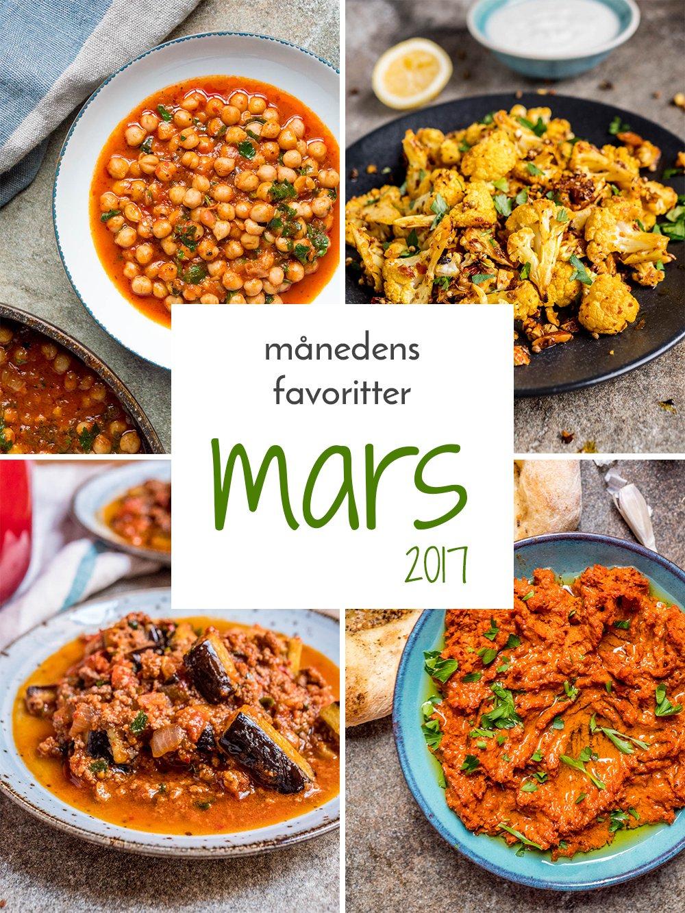 Månedens favoritter: De beste oppskriftene fra Mars 2017 / Et kjøkken i Istanbul