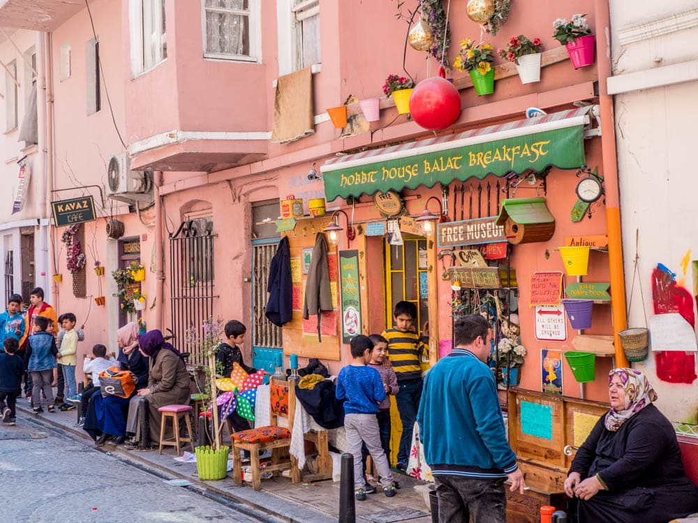 Hobbit House Breakfast i Balat, Istanbul