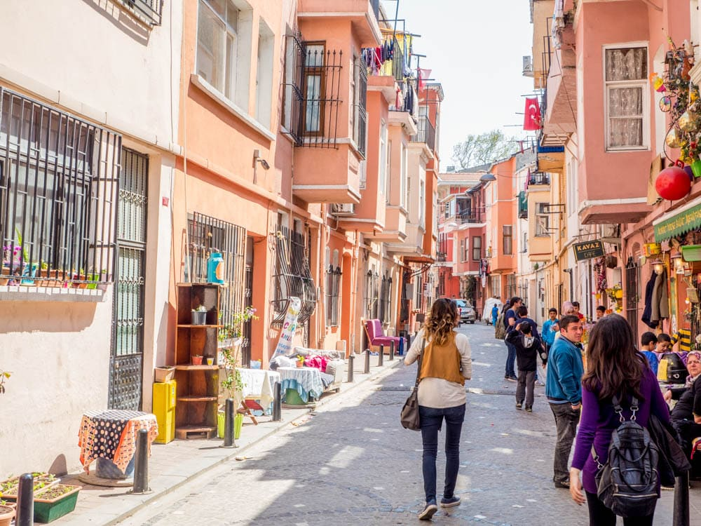 Gateliv i Balat, Istanbul