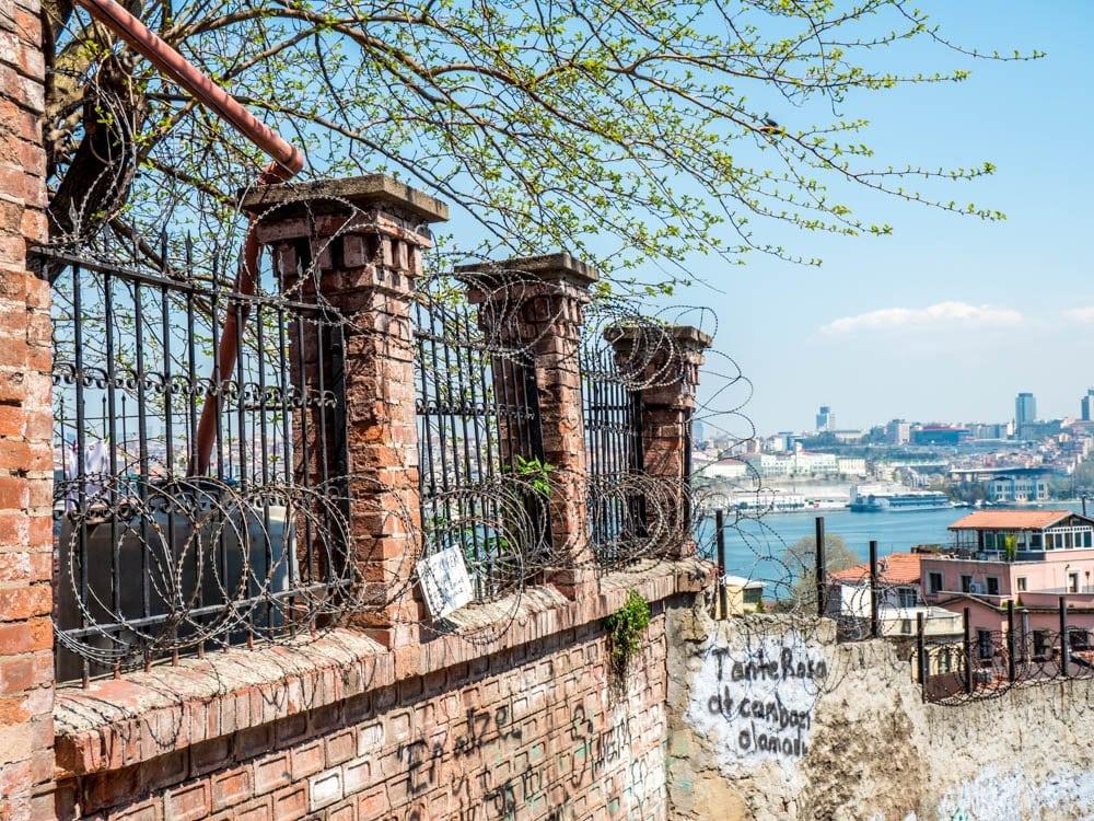 Utsikt mot Det gylne horn fro Balat / Fener, Istanbul