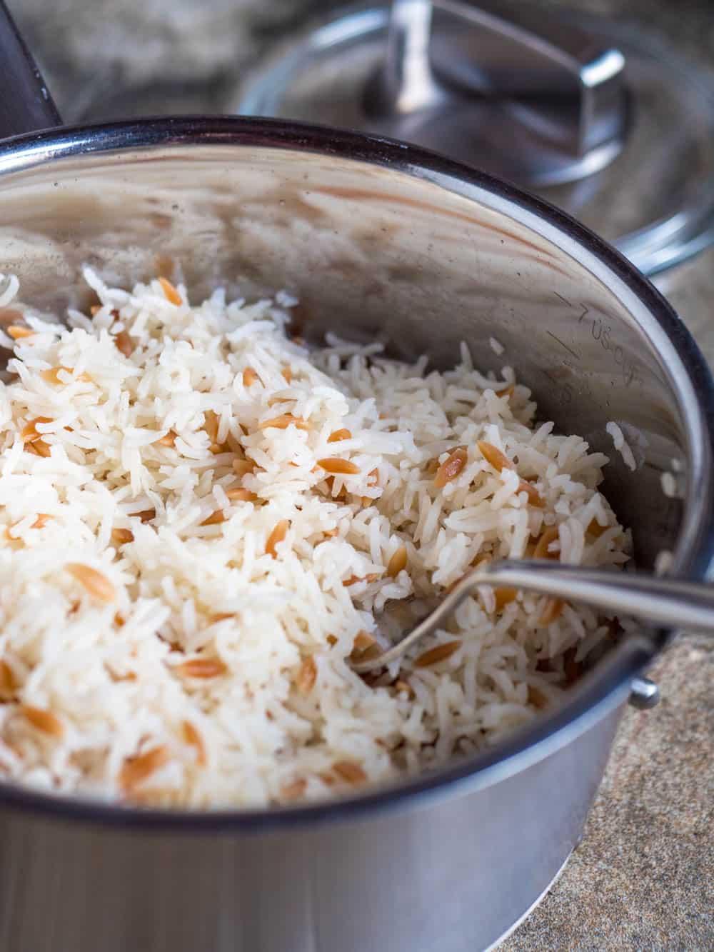 Hvordan koke ris slik tyrkerne gjør - oppskrift / Et kjøkken i Istanbul