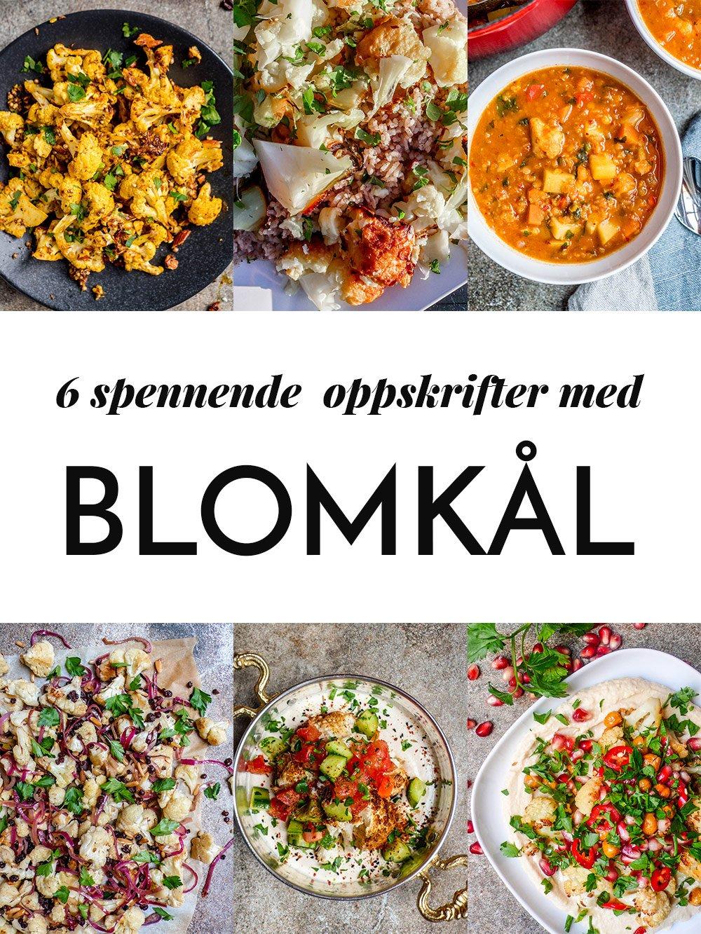 6 spennende oppskrifter med blomkål / Et kjøkken i Istanbul
