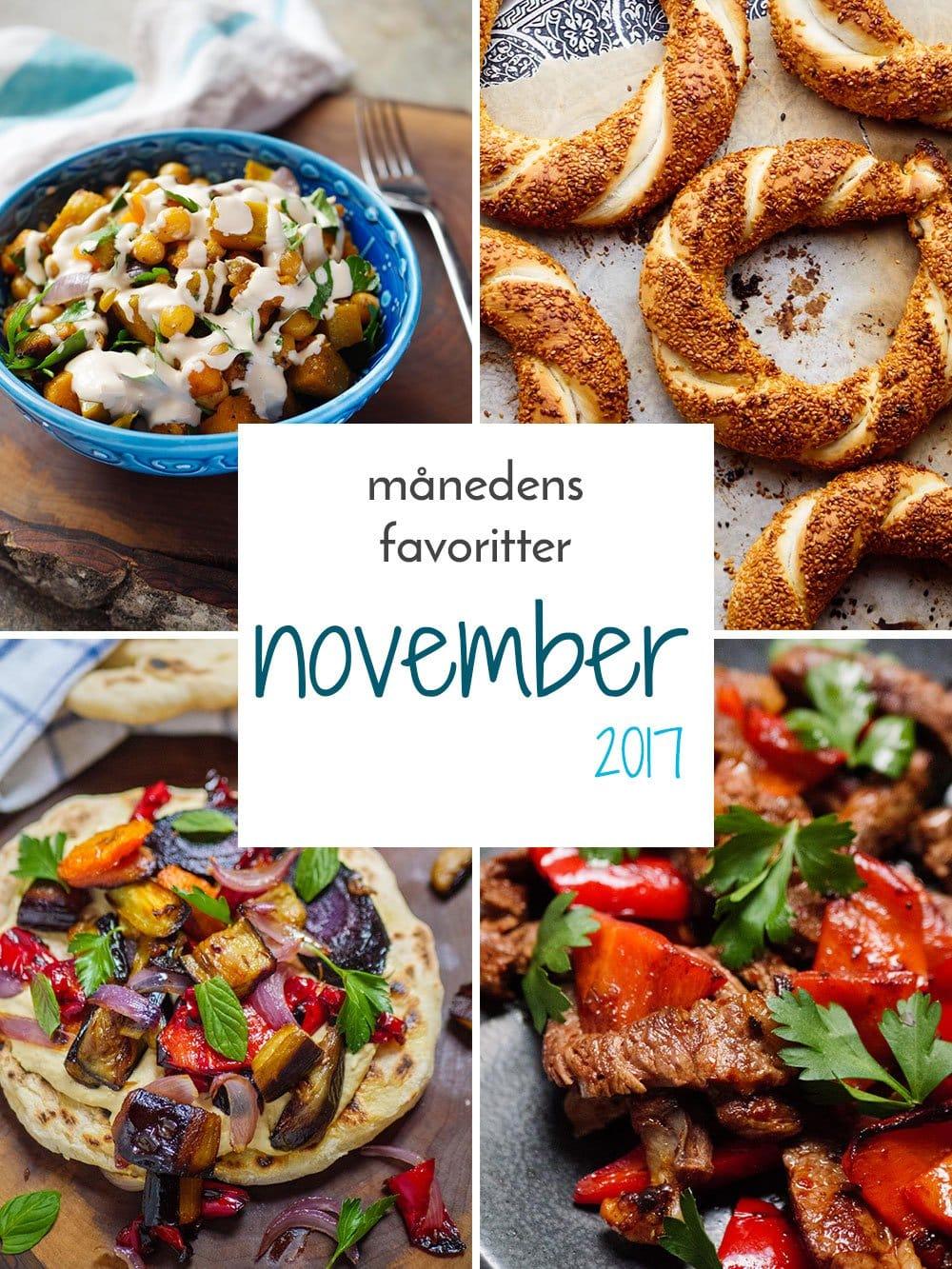 Månedens favoritter: November 2017 / Et kjøkken i Istanbul