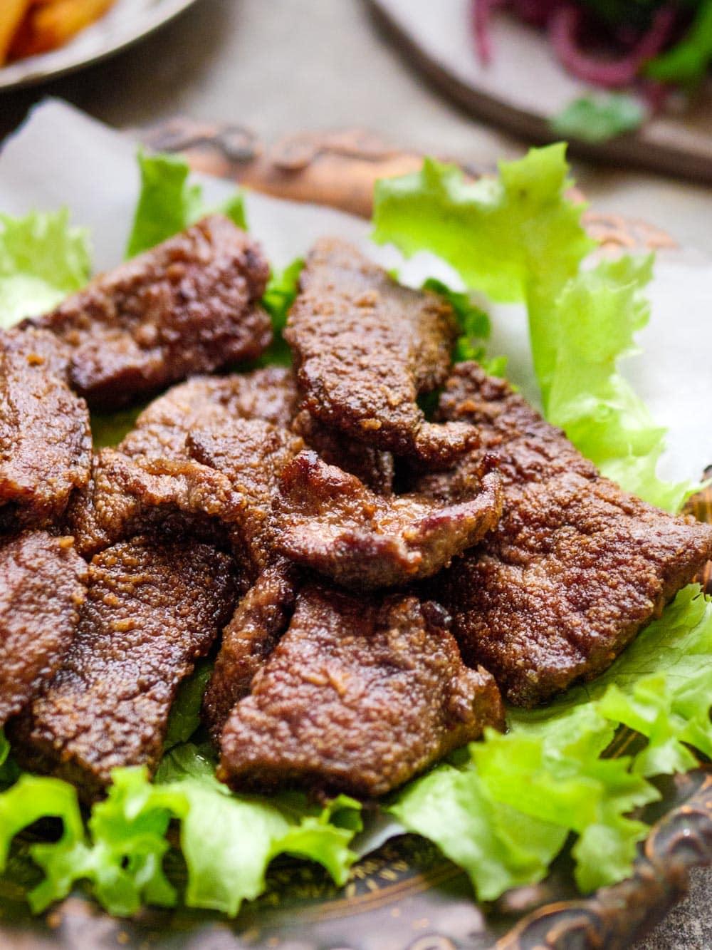 Stekt lever - oppskrift / Et kjøkken i Istanbul