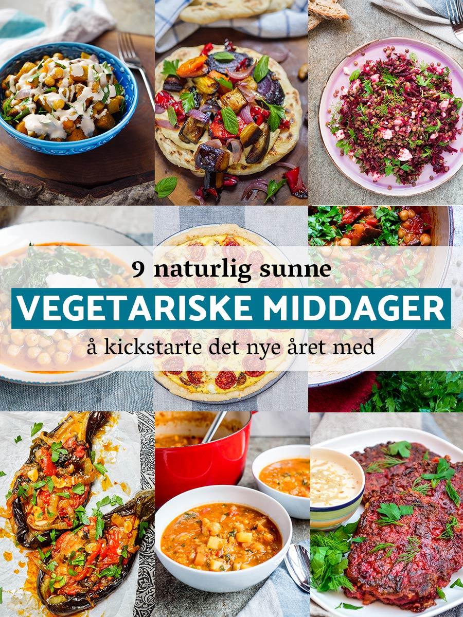 9 naturlig sunne vegetariske middager å kickstarte det nye året med / Et kjøkken i Istanbul