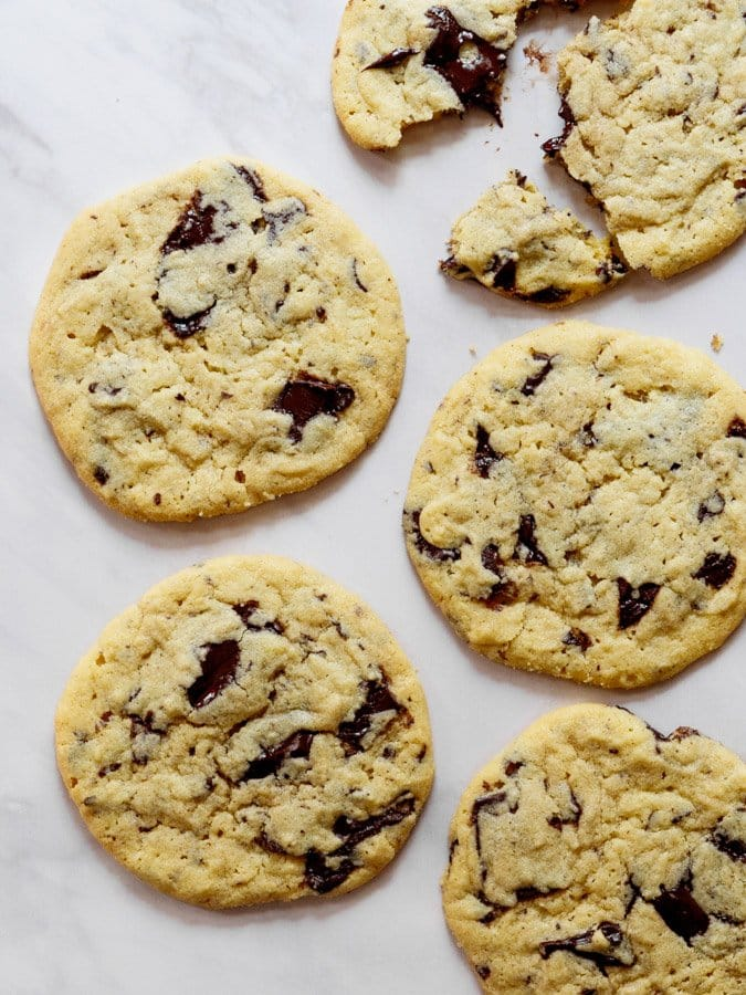 87a9b7495 Tahini chocolate chip cookies (Tahinikjeks med sjokolade) | Et ...