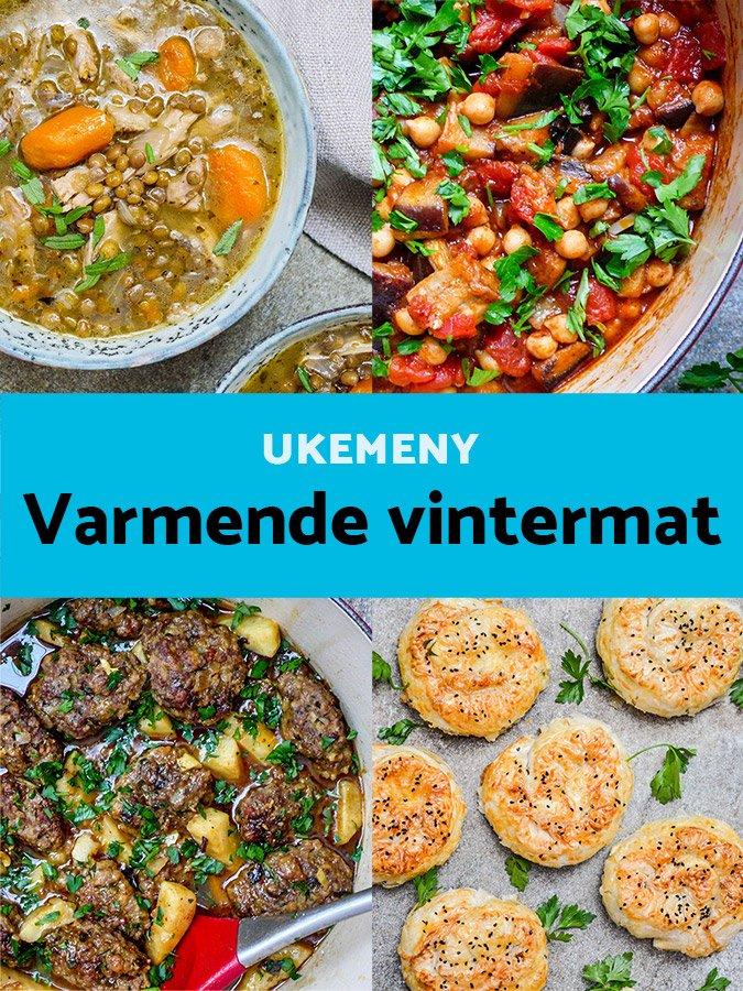 Ukemeny– Varmende vintermat - oppskrifter / Et kjøkken i Istanbul