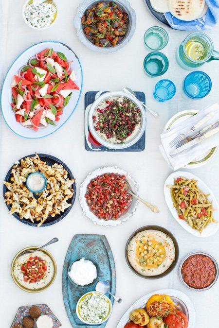Meze fra «Hummus og granateple» av Vidar Bergum. Foto: Bahar Kitapcı.