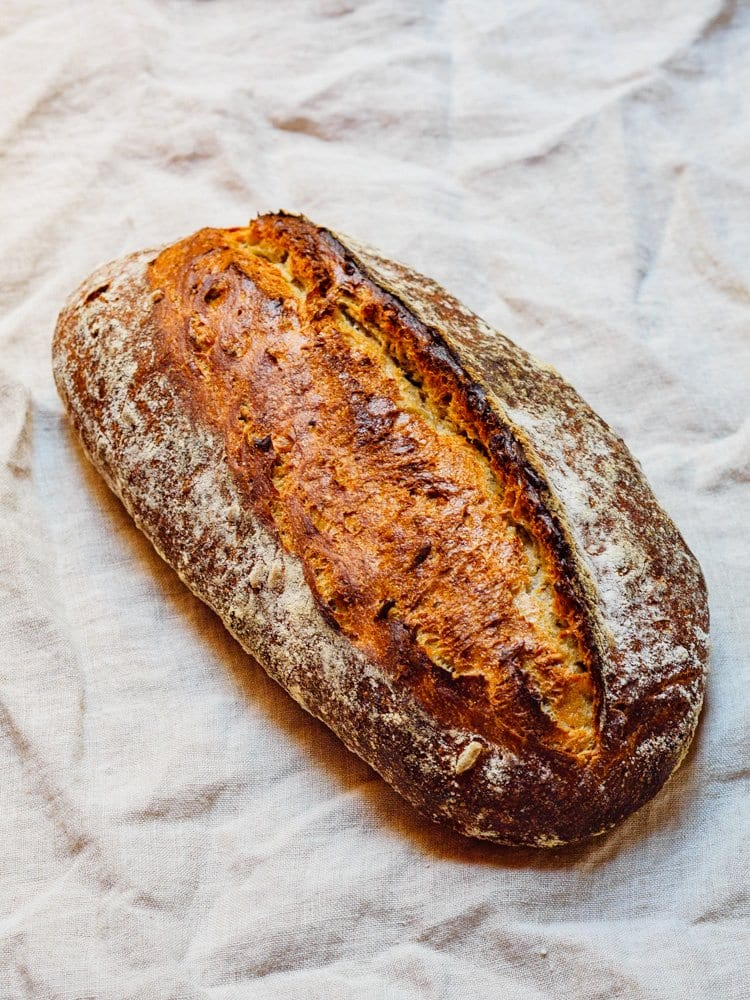 Hjemmebakt brød fra Et kjøkken i Istanbul