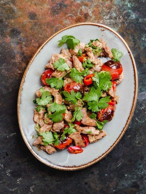 Stekt lammekjøtt med tomat og spisskummen – oppskrift fra Et kjøkken i Istanbul