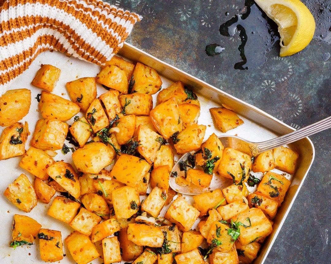 Batata harra - stekte poteter fra Midtøsten