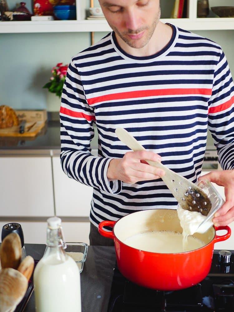 Hvordan lage yoghurt - oppskrift fra Et kjøkken i Istanbul