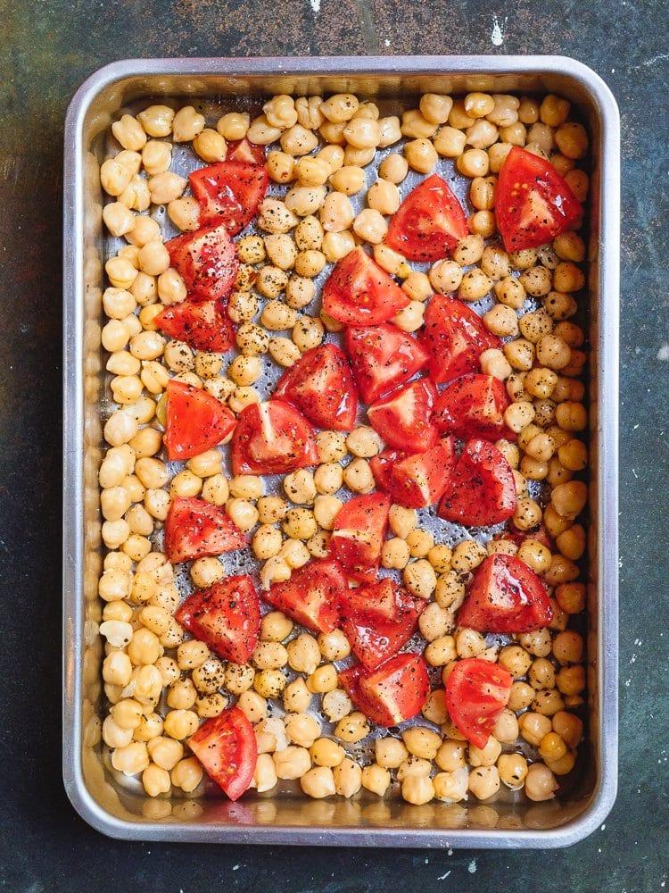 Ovnsbakte kikerter med tomat   Et kjøkken i Istanbul