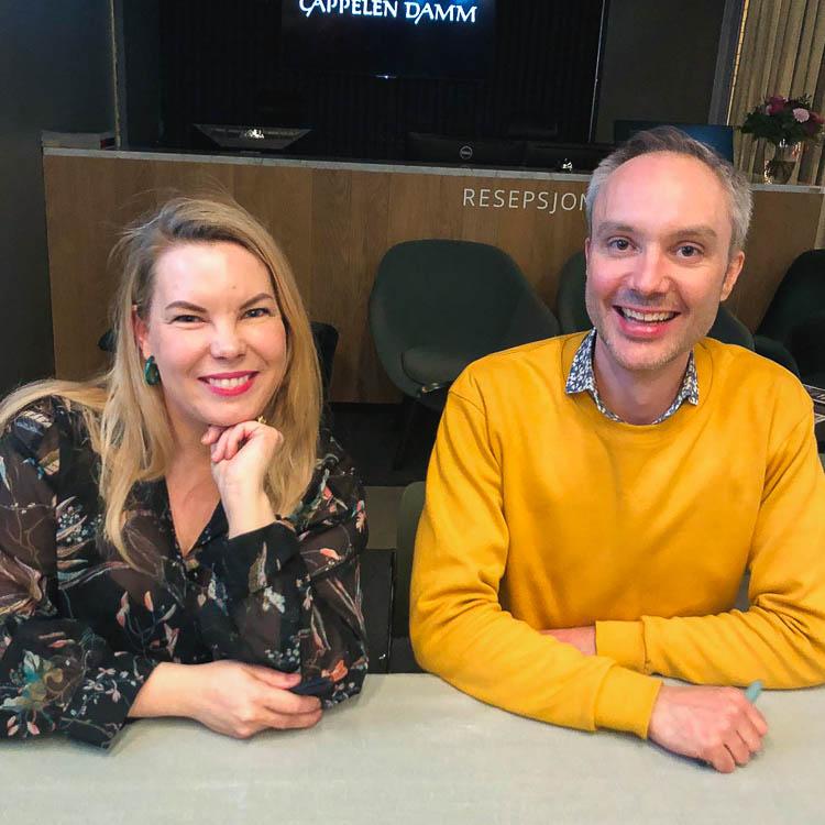 Marta Breen og Vidar Bergum