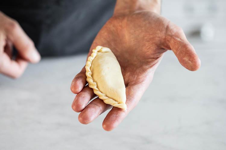 Pogaca - tyrkiske ostescones