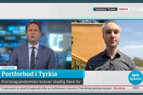 Vidar Bergum på NRK Nyheter