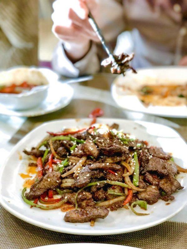 Uighursk mat