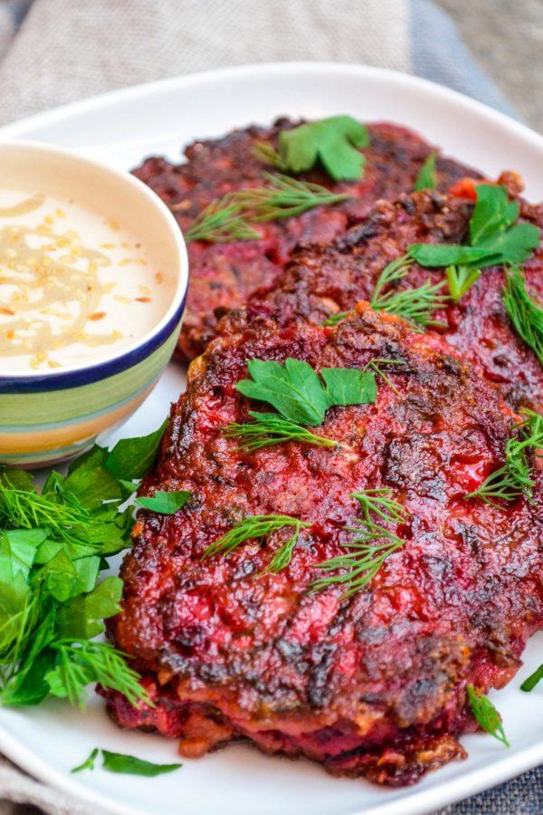 Rødbetkaker - oppskrift / Et kjøkken i Istanbul